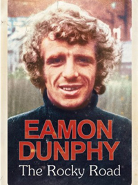 The cover of Eamon Dunphy's autobiography - The Rocky Road